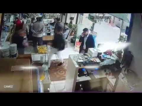 Hırsızın Soğukkanlılığı Görenleri şaşırttı
