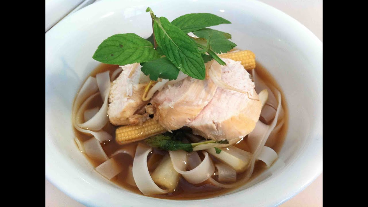 how to make chicken noodle soup youtube