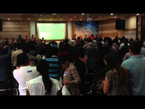 1st Annual - Geoje International Joint Worship Service in English (Oct. 12th, 2014)