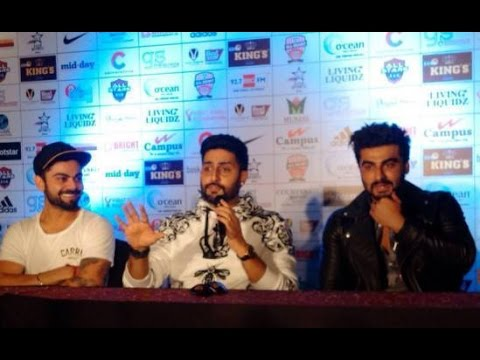 Bollywood VS Cricket at Celebrity Classico 2016 | Virat Kohli, Abhishek Bachchan, Arjun Kapoor