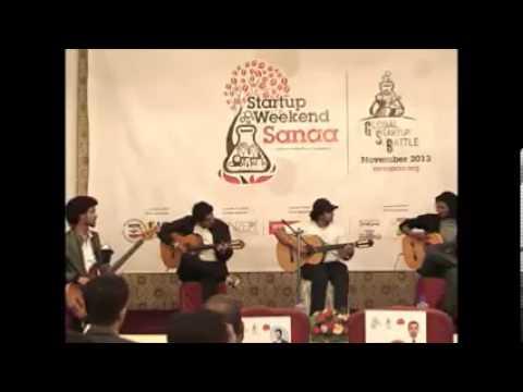 Amigos Band at Sanaa Startup Weekend