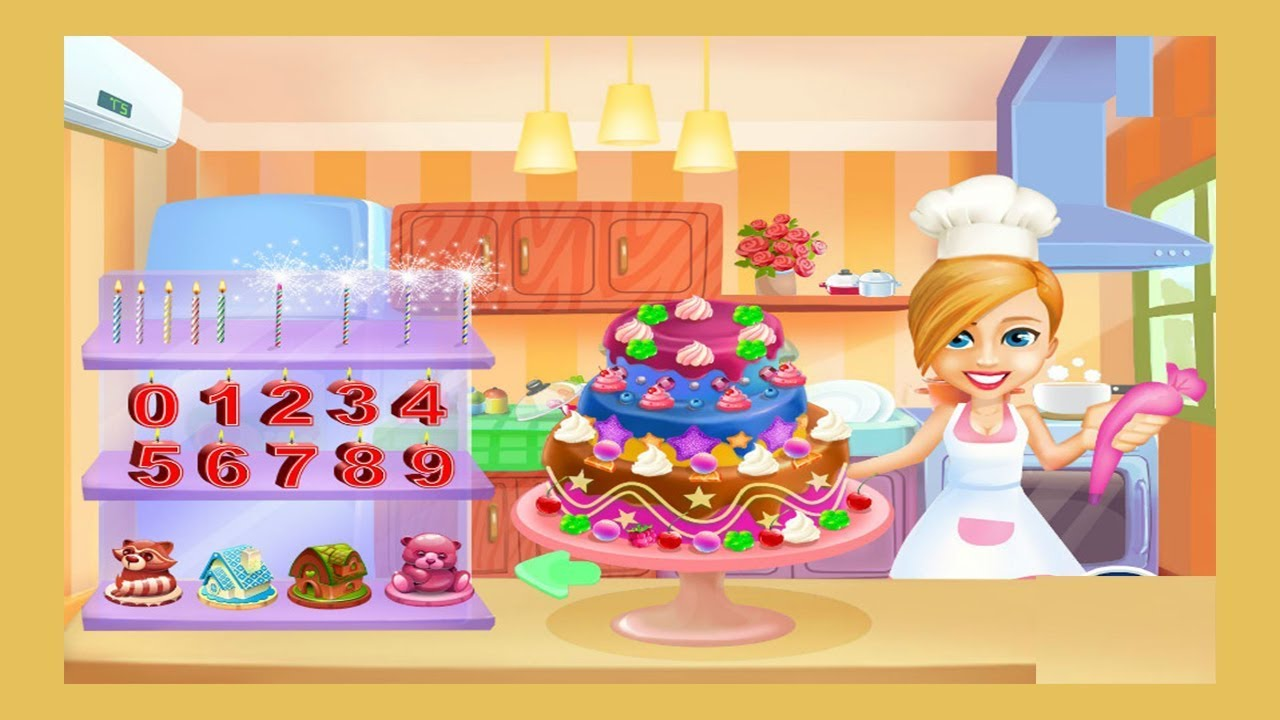 Games for kids baby birthday cake decor game cake y8 for Decor y8