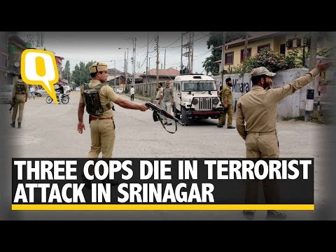 Three Policemen Killed in Separate Terror Strikes in Srinagar