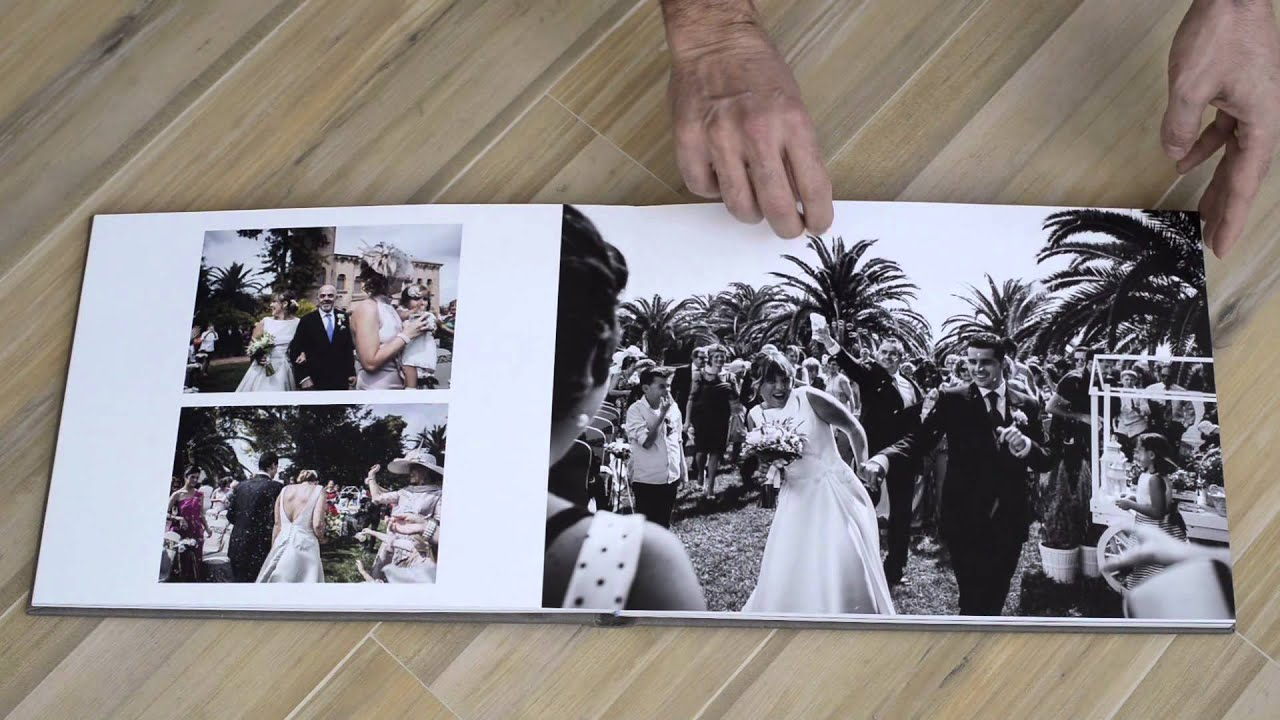 Album de boda 40x30 youtube for Album foto matrimonio