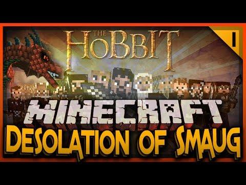 MineCraft The Hobbit Desolation Of Smaug Survival Episode 1