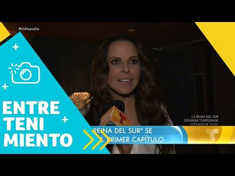 Kate del Castillo emocionada con La Reina del Sur 2 | Un Nuevo Día | Telemundo