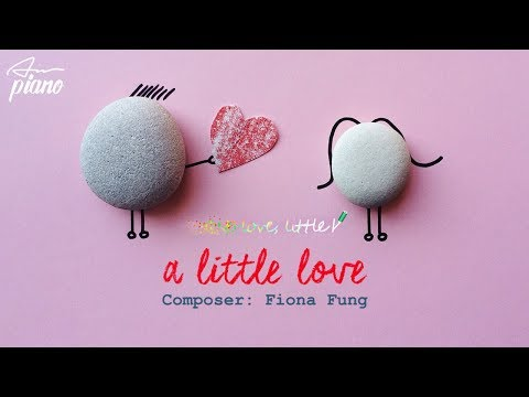 A little love (Sheet - Lyrics) - Easy Piano Tutorial
