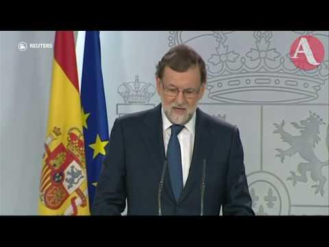Rajoy ya dio el primer paso para disolver al gobierno autónomo de Puidgemont: Manuel de Santiago
