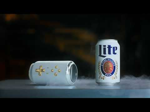 Deuce - New Miller Lite Can Blu-tooth Video Game Controller The Cantroller