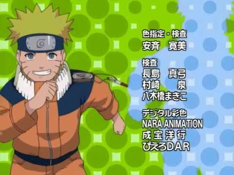 Naruto Ending 08 - Hajimete Kimi to Shabetta [GagagaSP]