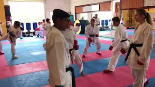 Higher belts  training.