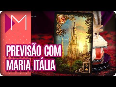 Previsões com Maria Itália - Mulheres (08/03/18)