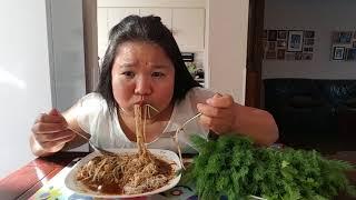 กินขนมจีนใส่พริกเป็นกำผักมาเป๋นสวนอีกแล้ว5555