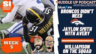 Jaylon Smith Broncos Have Avery Williamson at LB Huddle Up Podcast