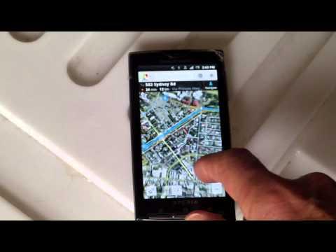 Google Map Camera Live View