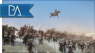 GERMANS ATTACK EASTERN FRONT: WW1 BATTLE - The Great War Total War Mod Gameplay
