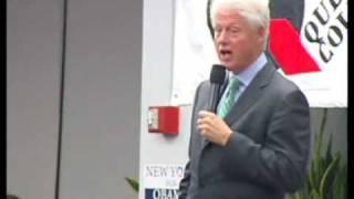 Bill Clinton go to Queens College