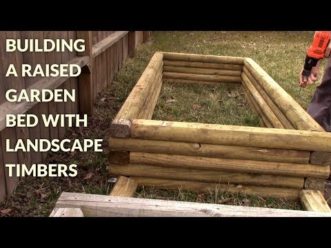 Building Raised Garden Bed With