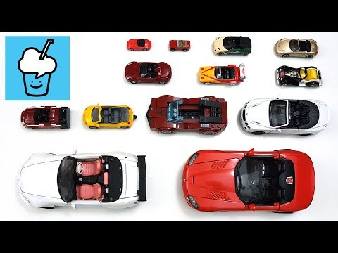 Cabriolet Convertible Cars for kids children with tomica トミカ VooV ブーブ 変身 Transformer siku