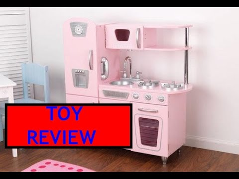 Kidkraft Vintage Kitchen In Pink Toy Review