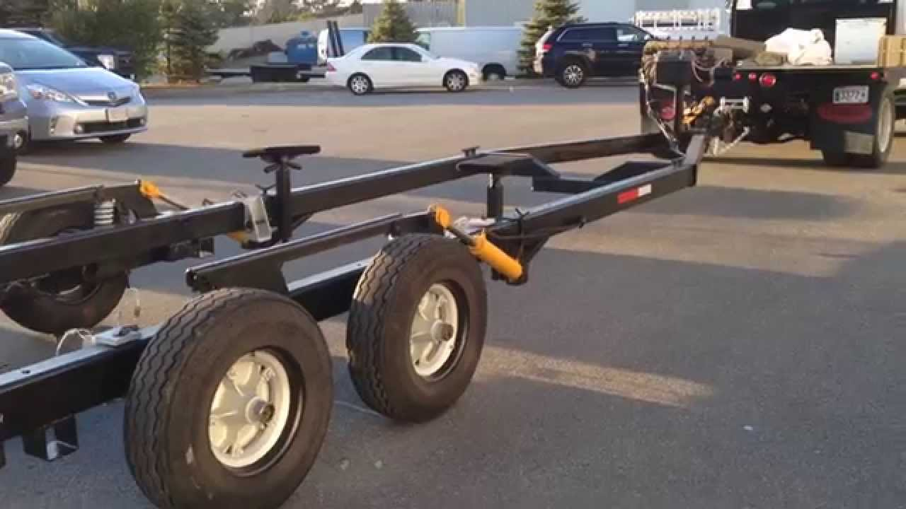 Hydraulic Boat Trailer For Sale Youtube