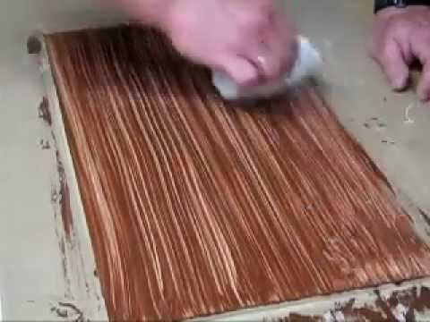 Faux Wood Floor On Mdf Youtube