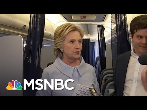 Hillary Clinton Suggests Russia Working To Elect Donald Trump | MSNBC