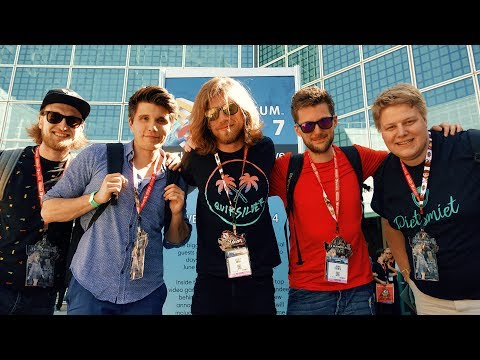 MIT YOUTUBERN AUF DER GAMING MESSE 🌎 Sarazar in Los Angeles (USA)
