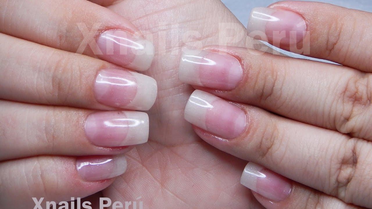 Uñas Acrílicas Efecto Super Natural Xnails Peru