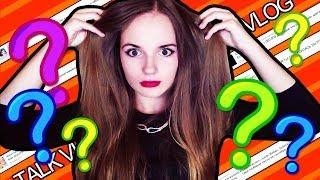 Ответы На Провокационные Вопросы - Talk Vlog Саши Спилберг #4