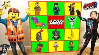 THE LEGO MOVIE 2 Giant Smash Surprise Toys Wall Game LEGO 2 MOVIE TOYS