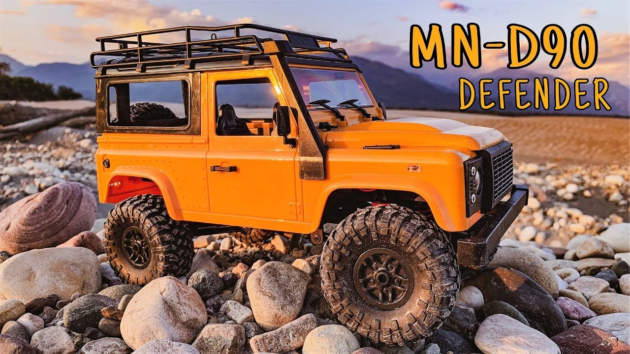 Test and Review - MN-90 1/12 Defender D90