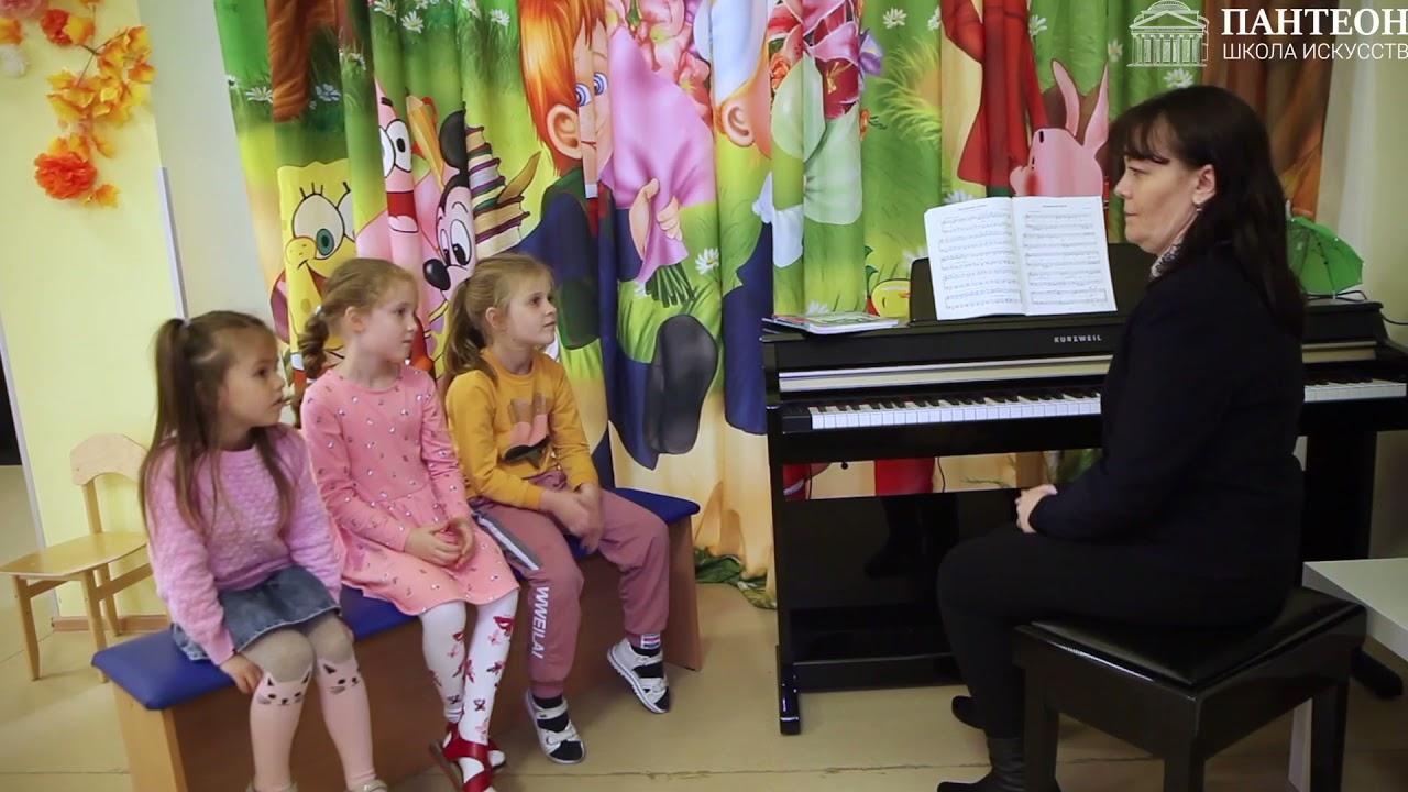 """Прослушивание детей (фортепиано) в д/c Сказка. Школа искусств """"Пантеон"""" преподаватель Лёшина И.В."""