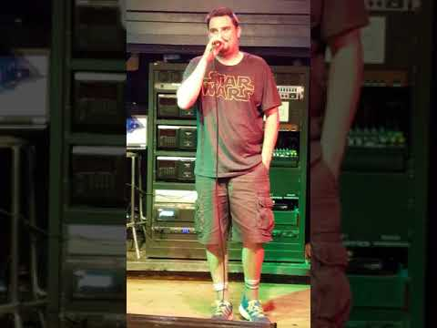 Stanley Ace - Beer Garden Niagara Falls (Karaoke Cover Song by The Police) - Roxanne