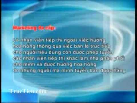 Bán hàng đa cấp theo VTV2 Đài truyền hình Việt Nam