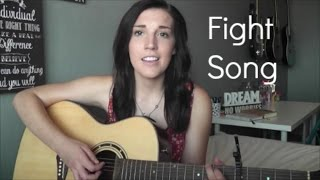 "Download lagu ""Fight Song"" by Rachel Platten (cover by Danica Evans)"
