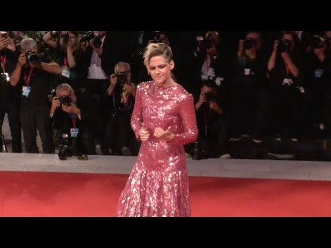 Kristen Stewart, Benedict Andrews at Seberg Red carpet in Venice