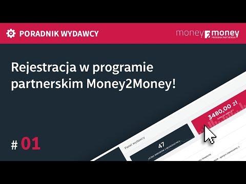 Poradnik Wydawcy Money2Money #01 - Rejestracja W Programie Partnerskim