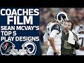 Sean McVay's Top 5 Play Designs vs. the Texans | Coaches Film Review | NFL Network