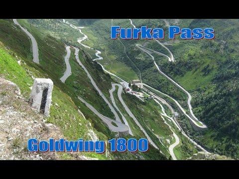 Furkapass - Suisse - Goldwing 1800 - Caméra Ghost-S