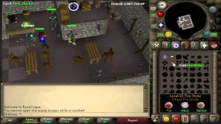 How to splash in OSRS after nerf! AFK magic training!