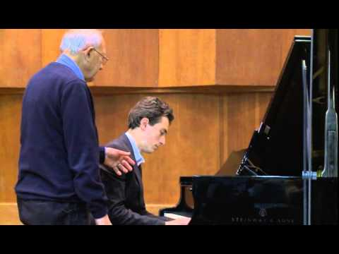 Masterclass for pianists with Gilbert Kalish (Netanel Grinshtein, piano)
