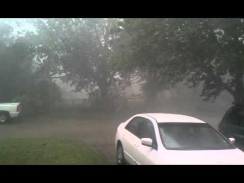 Crazy Oklahoma weather - Norman, OK - June 14, 2011