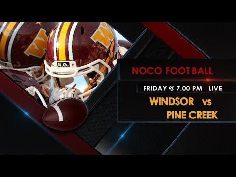 FOOTBALL: Windsor HS vs Pine Creek HS - 9/8/17