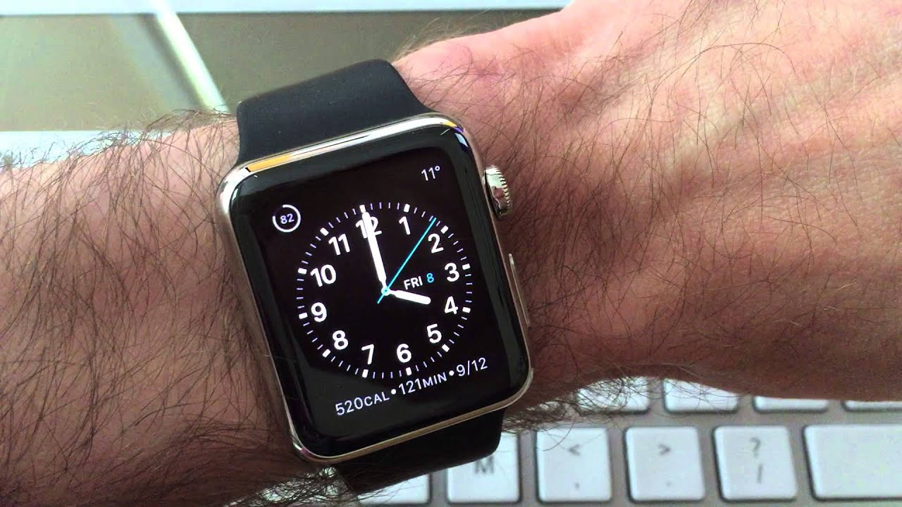 Apple Watch face seconds hand - YouTube