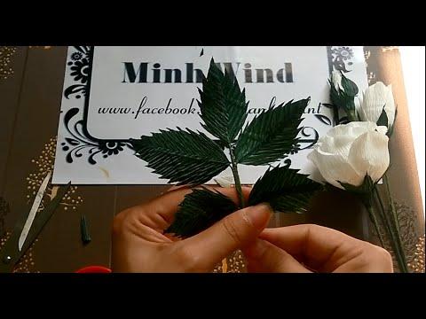 Rose paper flower
