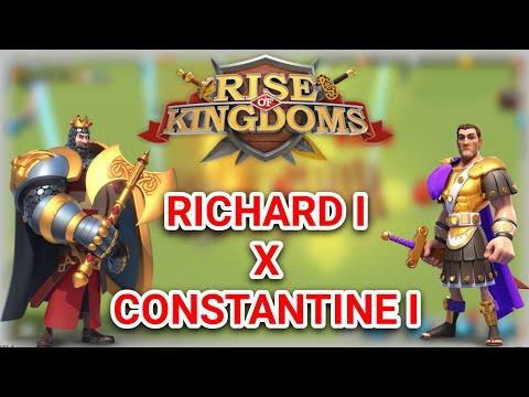 Test Commander Richard Constantine (4 Battle) - Rise Of Kingdoms