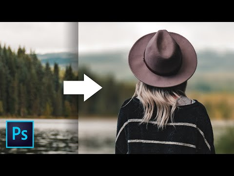 Photoshop Tutorial: Realistic Shallow Depth Of Field Effect Using Depth Maps