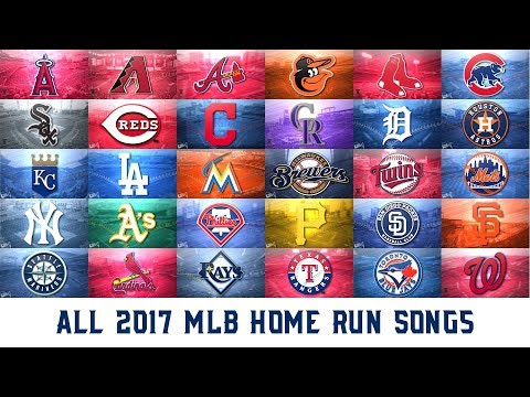 All 2017 MLB Home Run Songs