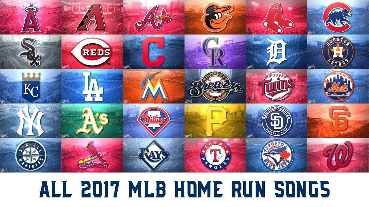 All 2017 mlb home run songs youtube for All house music